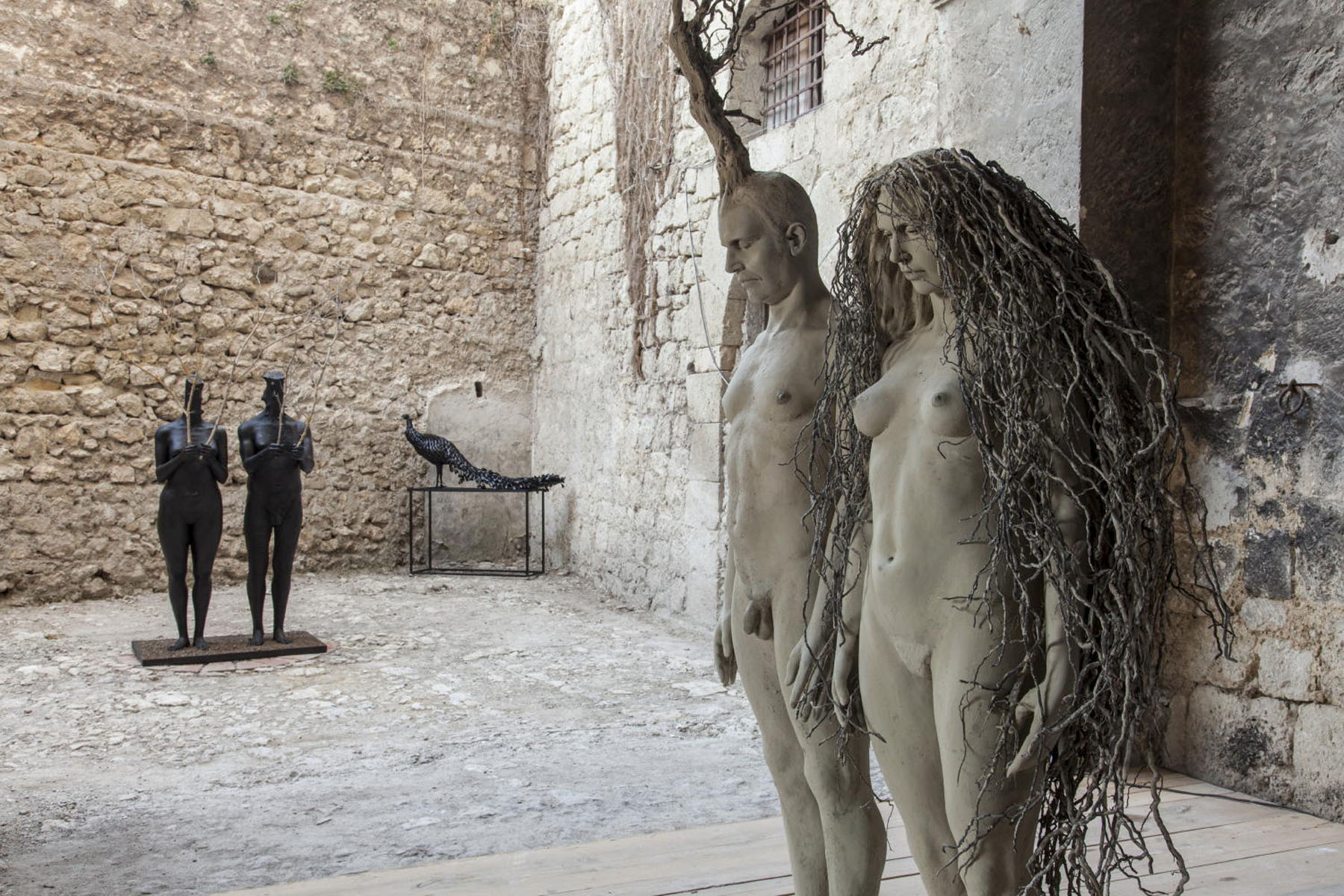 """Terra in corpo"" – Palazzo Cafisi, Favara"
